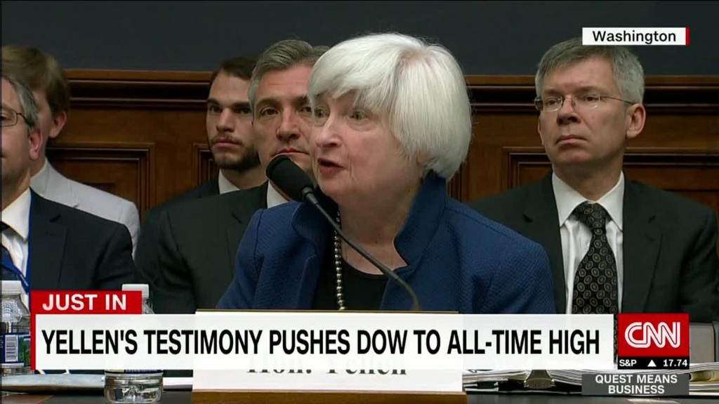 Was this Janet Yellen's last stand?