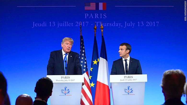 trump paris press conference