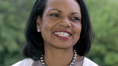 Condoleezza Rice on women's rights in the U.S