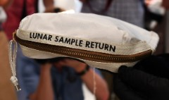 Neil Armstrong's moon sample bag sold for $1.8M