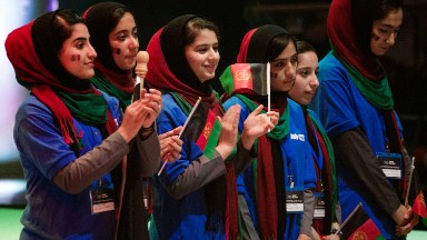 How an all-female robotics team from Afghanistan ended up competing in DC