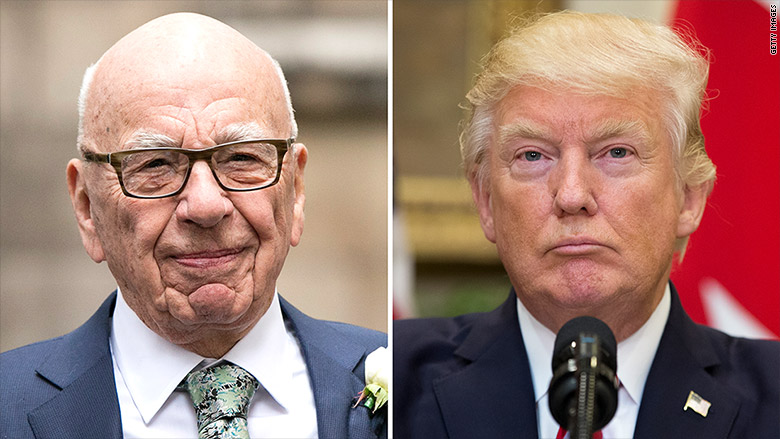 White House confirms: Trump talked to Murdoch about Disney deal