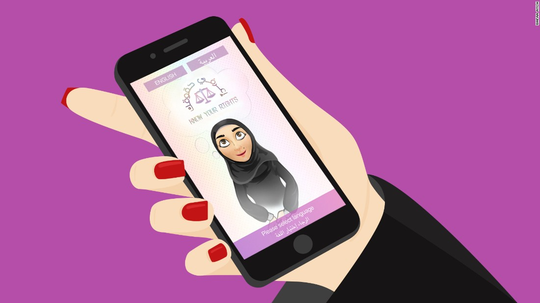 New app helps Saudi women claim their rights