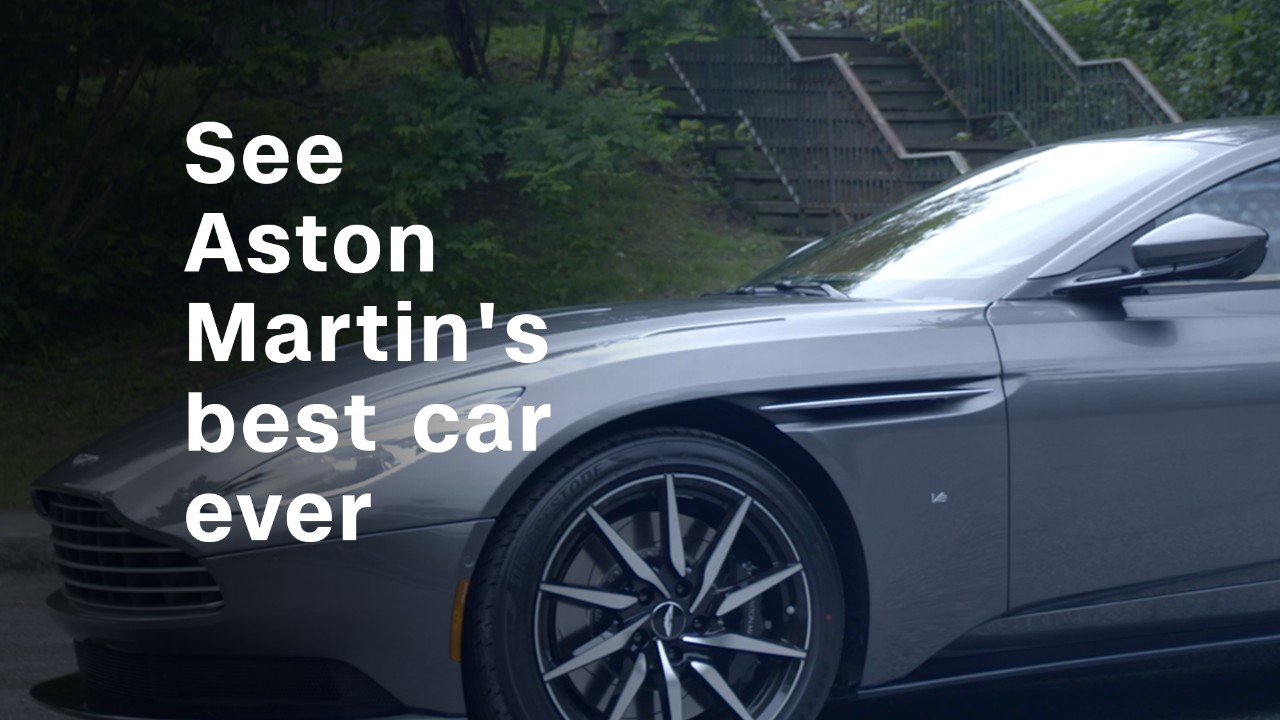 Aston Martinu0027s New DB11 Combines A Sports Car Sensibility With The Comfort  Of A Grand Touring Car For Their Best Ride Yet.