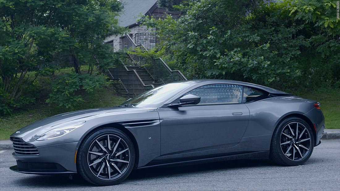 Driving the best Aston Martin ever