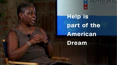 Ursula Burns: Help is part of the American Dream