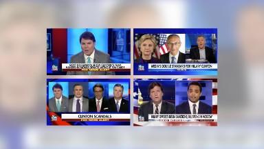 Fox News turns to Hillary Clinton amid negative news for Trump