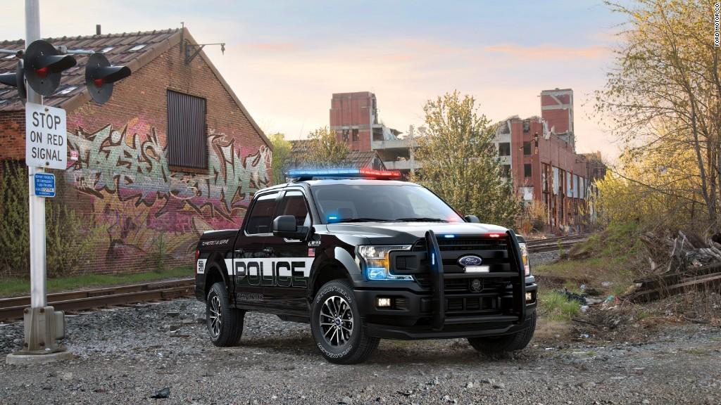 See Fords First Ever F 150 Police Truck