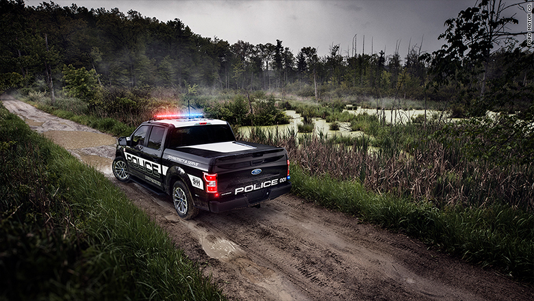 ford police f150 swamp