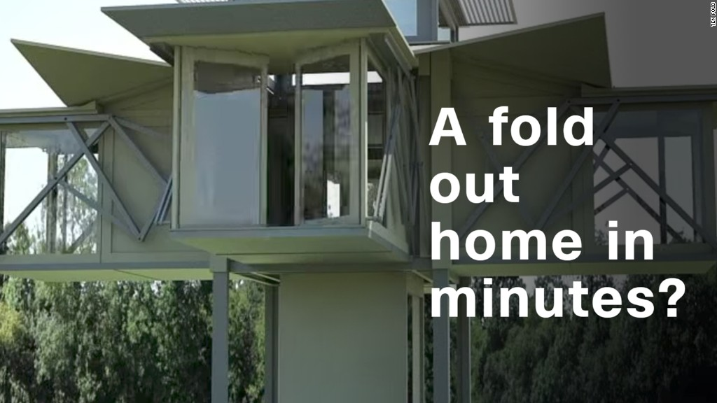 A fold out home in minutes?