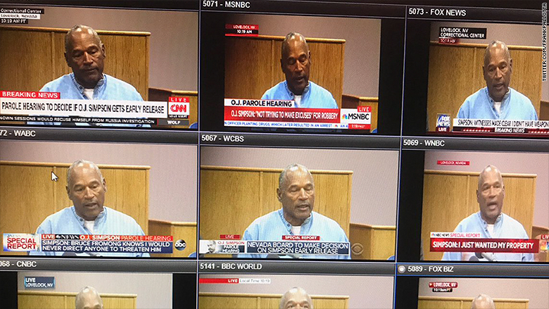 O.J. hearing: A blast from the media past