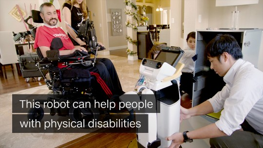 Robot For the Disabled