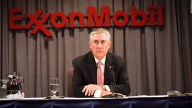 Treasury Dept. goes after Tillerson's Exxon