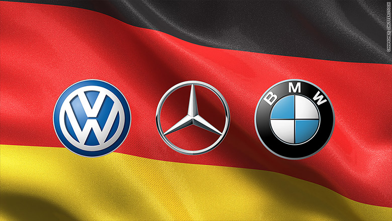 Antitrust claims leveled at German automakers