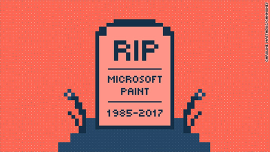 Microsoft Paint could get the boot after 32 years