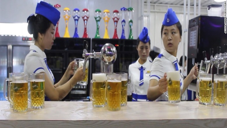 North Korea beer festival 2016