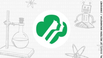 girl scouts stem