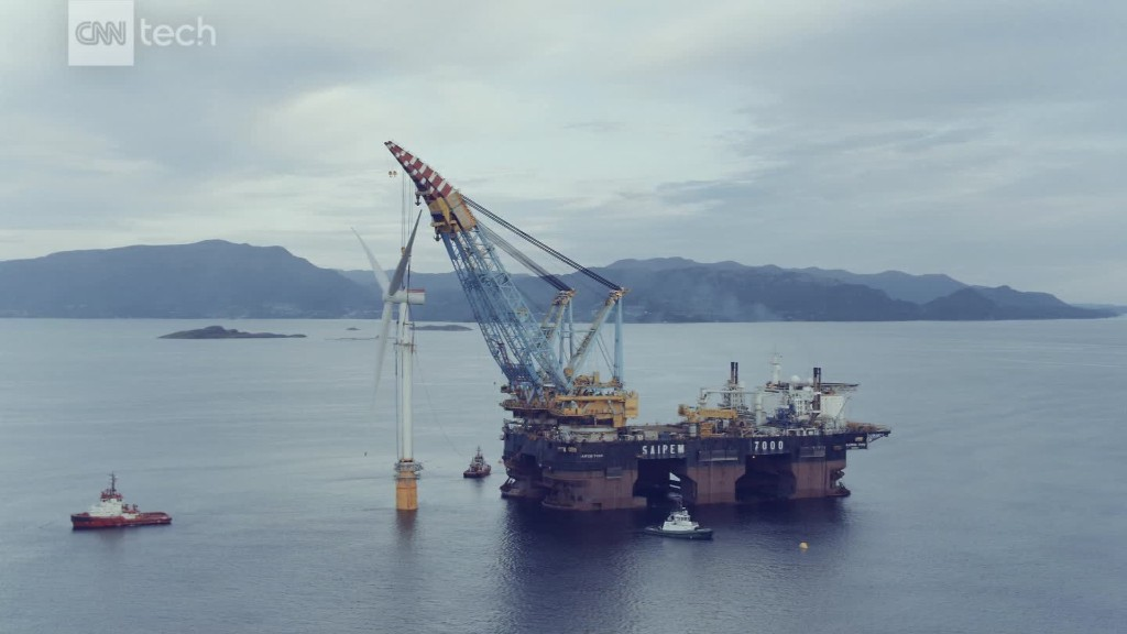 $274M wind farm floating off Scotland