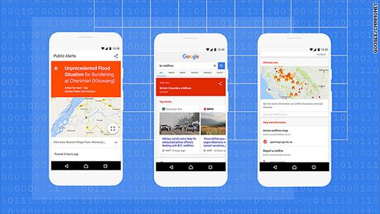 Image result for google sos alerts