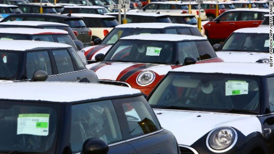Car sales hit major speed bump in Brexit Britain