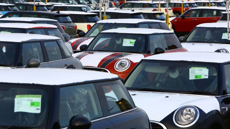 U.K. car sales slow as Brexit empties the tank