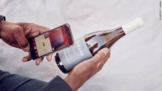 This app is designed to turn anyone into a wine expert