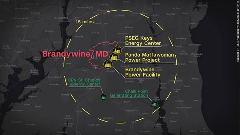 In Three Years Five Power Plants Will Be Operating Within A 15 Mile Radius Of Brandywine