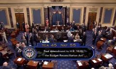'Repeal-only' health amendment fails in Senate