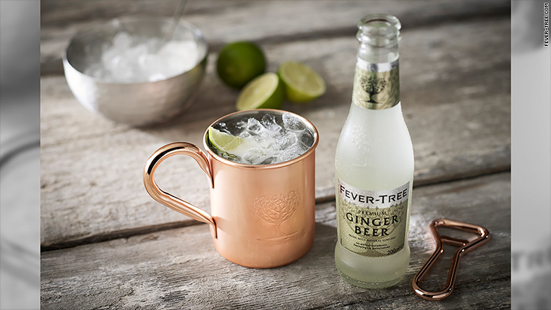 fever tree copper mug