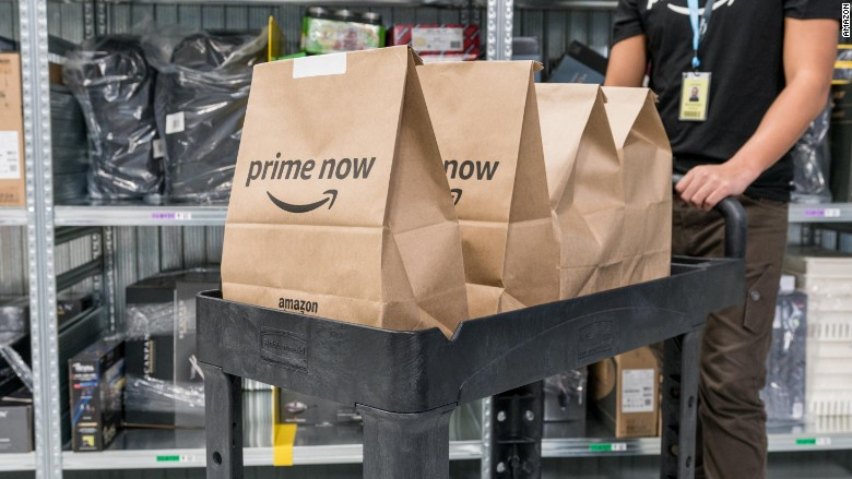 Amazon Prime Now delivery unavailable for second day after launch