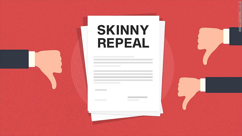 Insurers aren't loving Senate's 'skinny repeal' plan