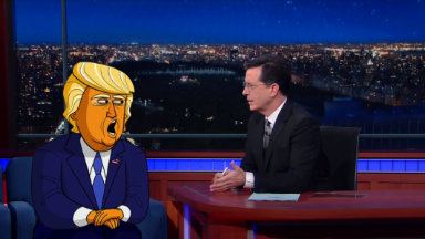 Donald Trump animated series from Stephen Colbert coming to Showtime