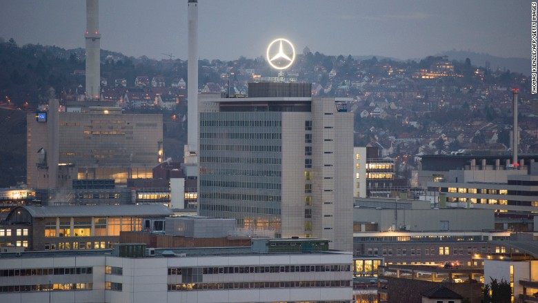 stuttgart mercedes germany car city