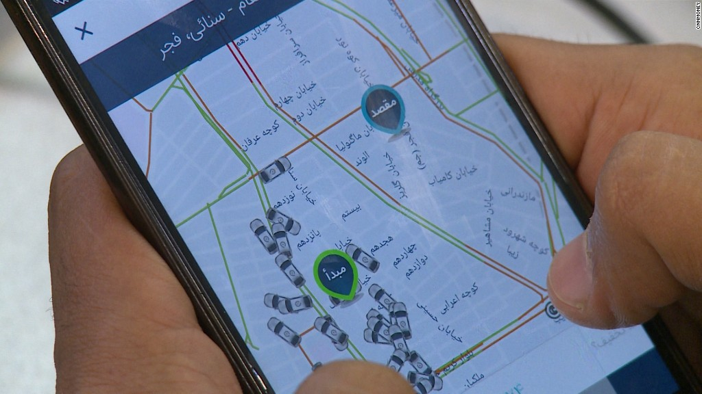 This app wants to be the Uber of Iran