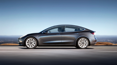 Tesla delivers its first 30 Model 3s in historic moment