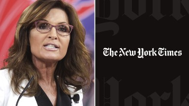 Sarah Palin appeals ruling in New York Times lawsuit