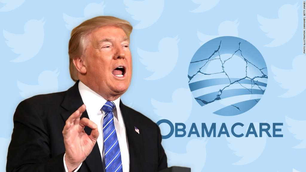 Trump threatens to end insurance subsidies