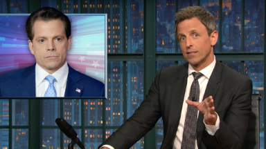 'How did we lose The Mooch already?!': Late night says goodbye to Anthony Scaramucci