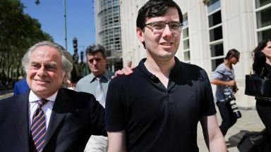 Martin Shkreli headed to jail after Hillary Clinton threats