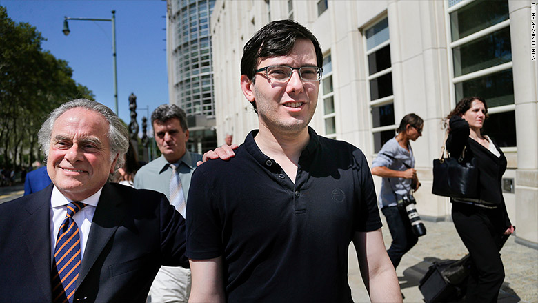 Martin Shkreli headed to jail after Clinton threats