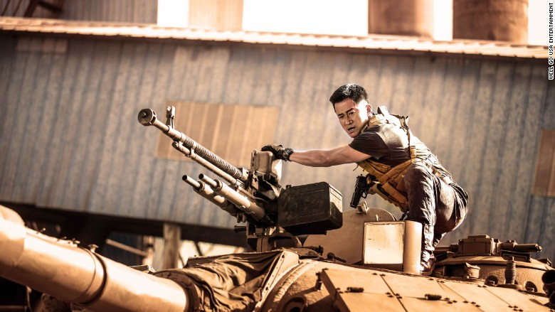 Wolf Warrior 2 movie still