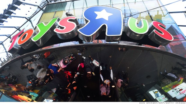 Toys 'R' Us bankruptcy fears hit Mattel and Hasbro