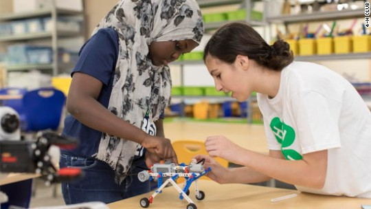 Google pushes diversity in tech -- now with 4-H club