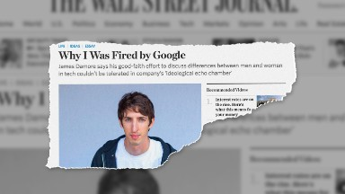 Fired engineer: Google tried to shame me