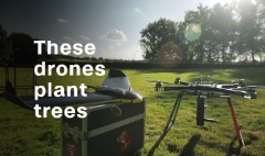 Tree-planting drones hope to fight deforestation