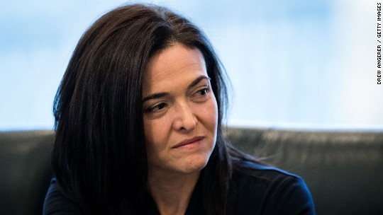 Sandberg 'disgusted' by anti-Semitic FB ad targeting