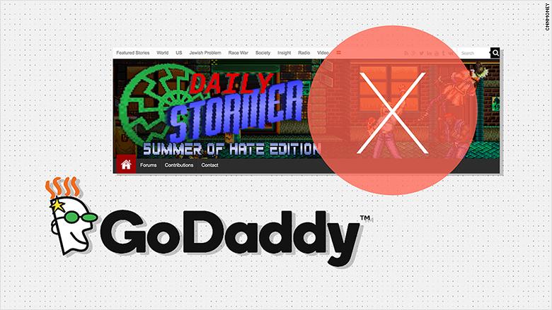 godaddy daily stormer