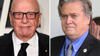 Bannon vs. Murdoch, Breitbart vs. WSJ: The proxy war over Trump