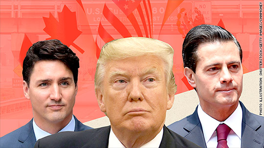 Day 1 of NAFTA talks: 'This agreement has failed'