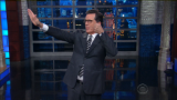 Colbert slams Trump's press conference